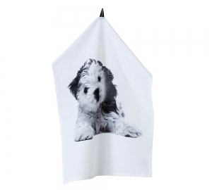 hund handduk dog love