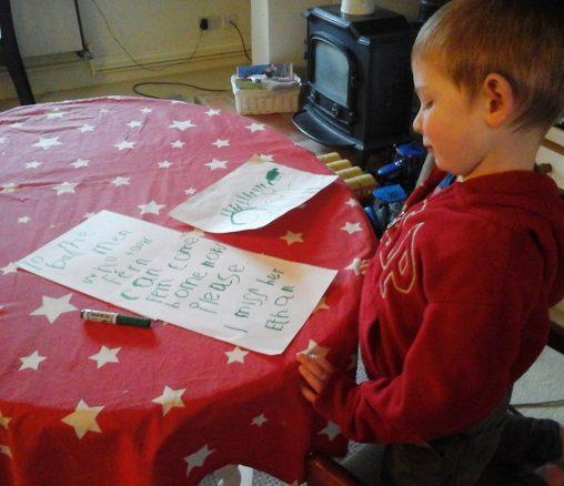 Läs 4-åringens hjärtskärande brev till hundtjuvarna