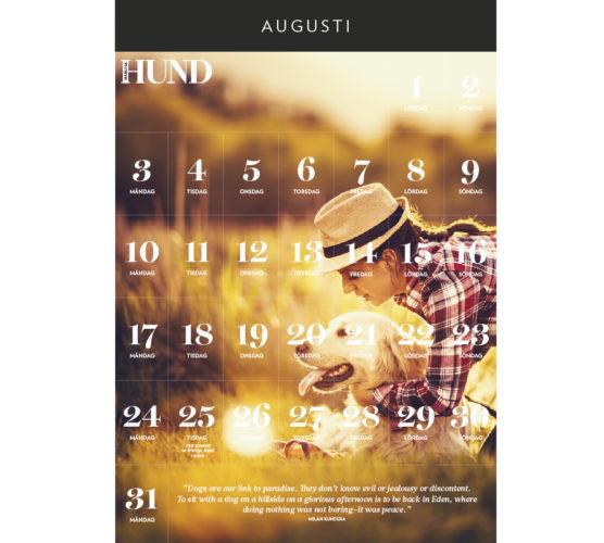 Kalender att skriva ut: Augusti 2015