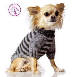 DIY: Stickad tröja till småfrusna småttingar