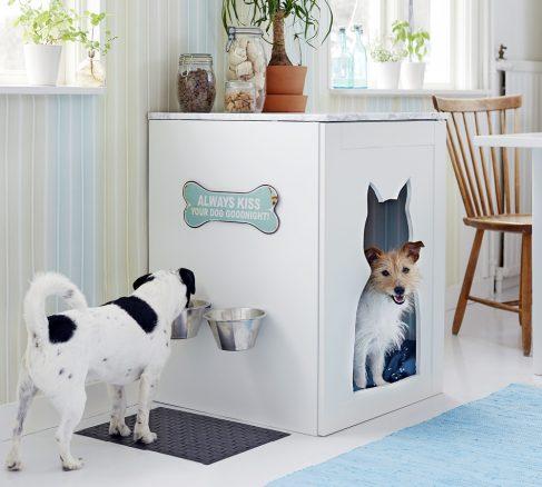 DIY: Bygg en mysig hundkoja i köket