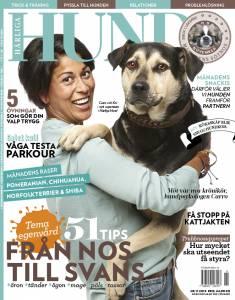 Härliga Hund nr 11 -15 med Carro Hellgren på omslaget