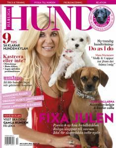 Härliga Hund nr 12-15 med Maria Montazami på omslaget
