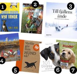 Nytt i hundhyllan – 7 lästips!