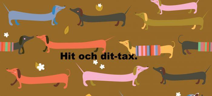 illustration av taxar