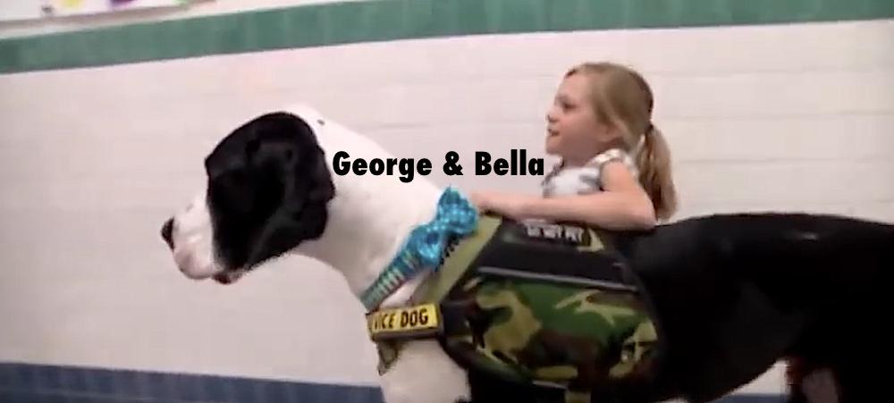 Bella och grandisen George