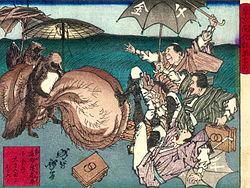 tanuki med jättepung