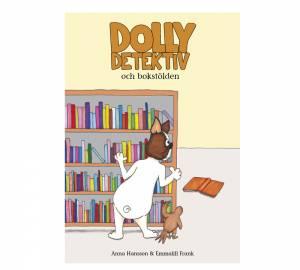"""Bokomslag """"Dolly Detektiv och bokstölden"""""""