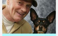Anders Hallgren och hans hund