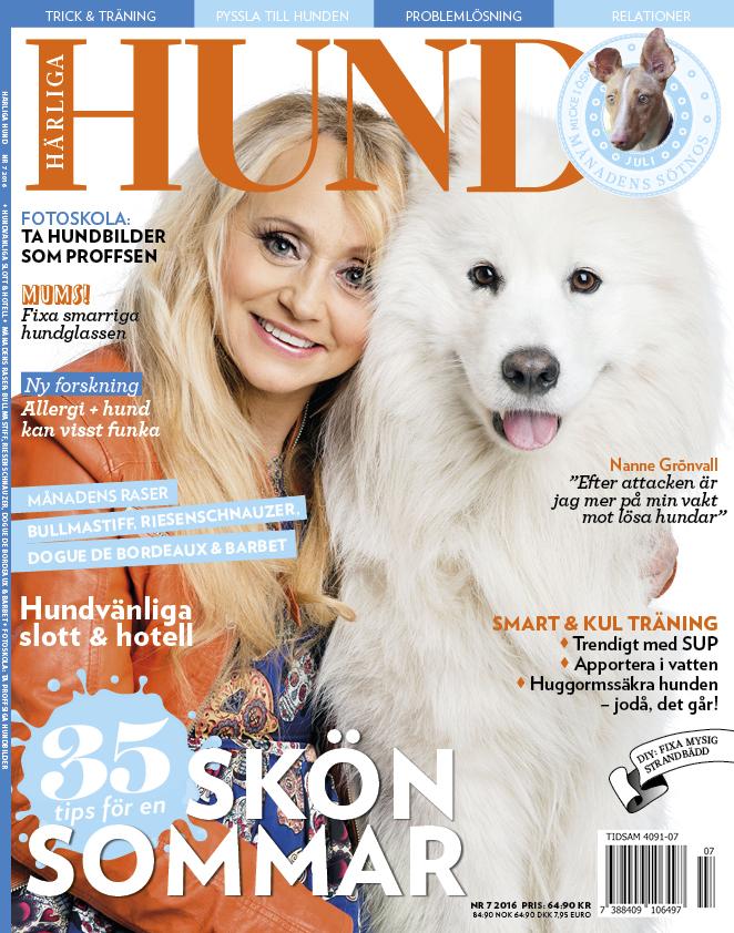 Omslaget till Härliga Hund nr 7 2016