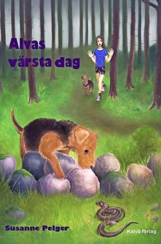 """Omslaget till boken """"Alvas värsta dag"""" av Susanne Pelger"""