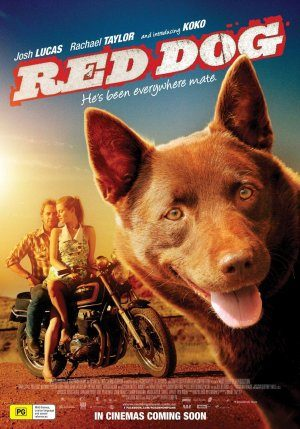 Filmaffisch Red Dog