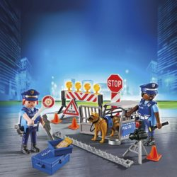 Playmobilset med polishund ur temaserien City Action