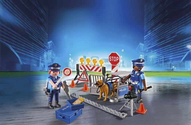 Playmobilset med polishund ur temaserien City Action