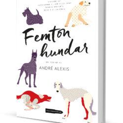 """Omslaget till boken """"Femton hundar"""""""