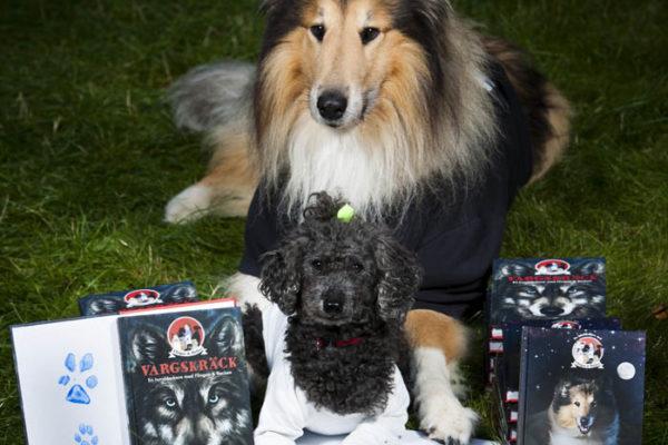 Hundar signerar deckare på Bokmässan!