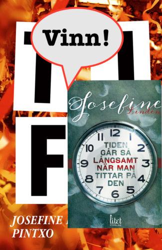 Böckerna TIFO och Tiden går så¨långsamt när man tittar på den av Josefine Lindén kan bli dina.