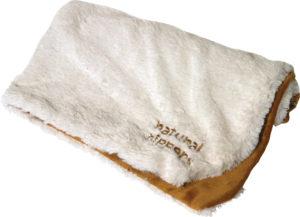 Hundfilt Mjuk Plysh Beige, 70 x 50 cm