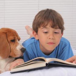 Bark &read, läshundar, barn och hund, läskunnighet, dyslexi
