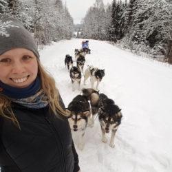 Hundpsykologen Sandra Tellström: Från elev till lärare