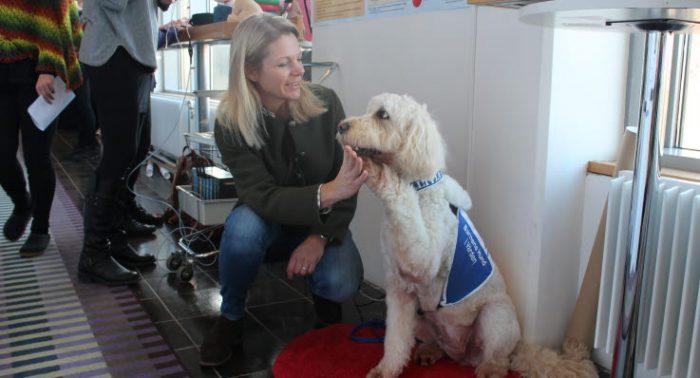 Vårdhunden Livia har gått bort