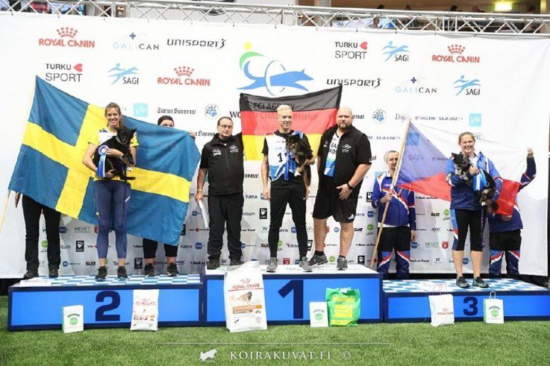 Ett svenskt silver i agility-VM