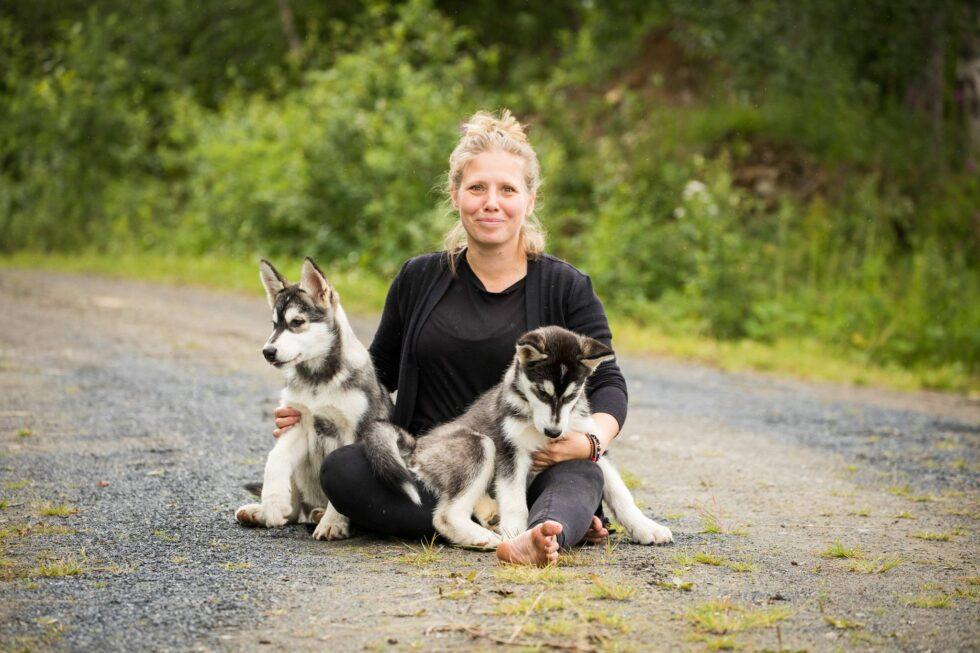 Äventyr och Hundsteg: Det är hundlivet för Sandra Tellström